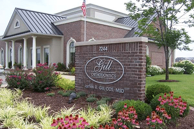 Buidling Exterior at Gill Orthodontics at Gill Orthodontics in Evansville IN